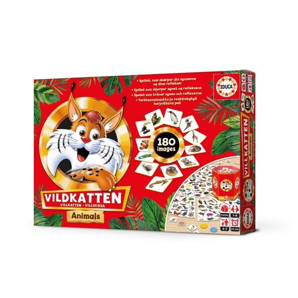 Image of Vildkatten Animals - Fun & Games (MAK-018975)