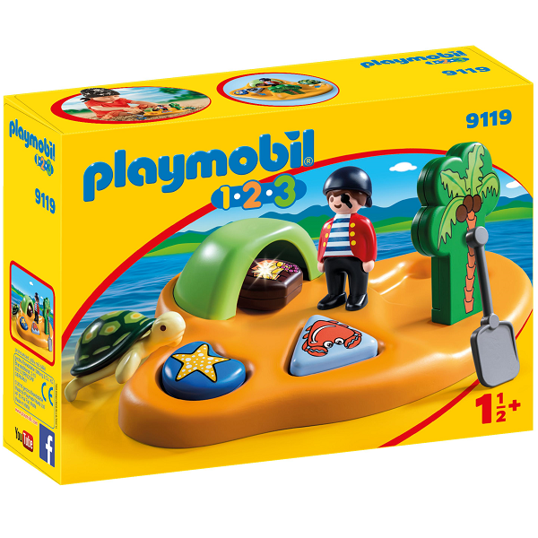 Image of   1.2.3 Piratø - PL9119 - PLAYMOBIL 1.2.3