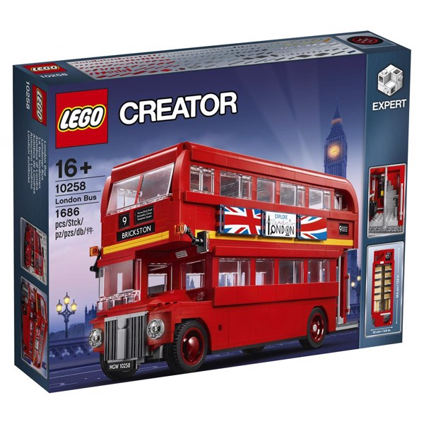 Image of London bus - 10258 - LEGO Creator Expert (10258)