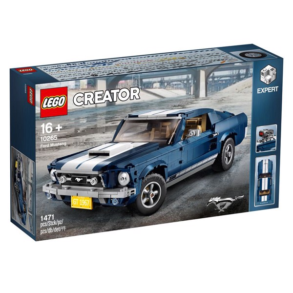 Image of Ford Mustang - 10265 - LEGO Creator Expert (10265)