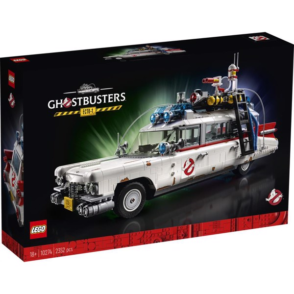 Image of Ghostbusters ECTO-1 - 10274 - LEGO Creator Expert (10274)