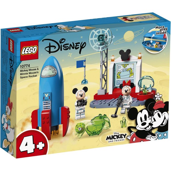Image of Mickey Mouse og Minnie Mouses rumraket - 10774 - LEGO Mickey & Friends (10774)