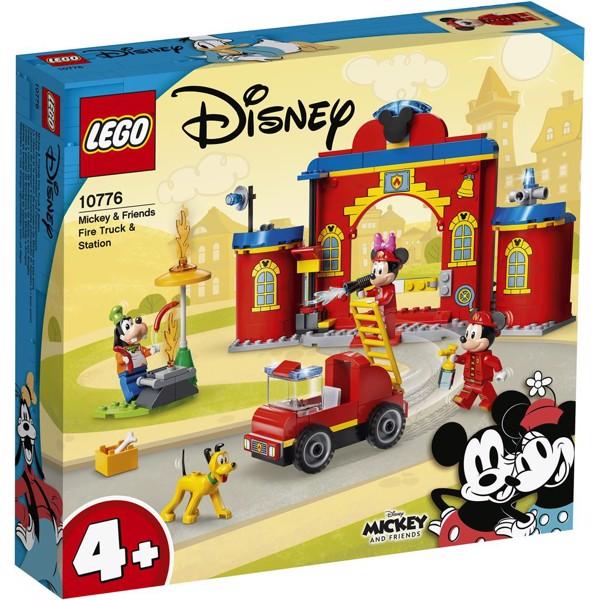 Image of Mickey og venners brandstation og brandbil - 10776 - LEGO Mickey & Friends (10776)