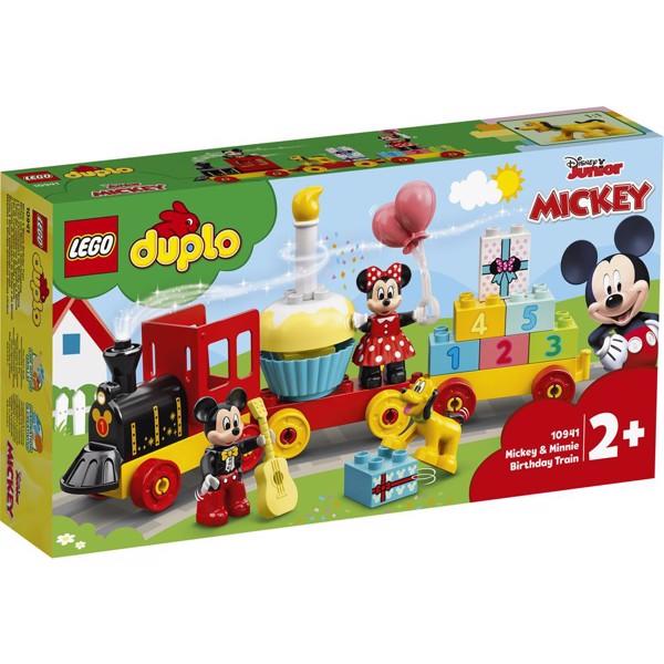 Image of Mickey & Minnies fødselsdagstog - 10941 - LEGO DUPLO (10941)