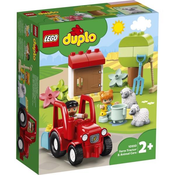 Image of Traktor og pasning af bondegårdsdyr - 10950 - DUPLO (10950)
