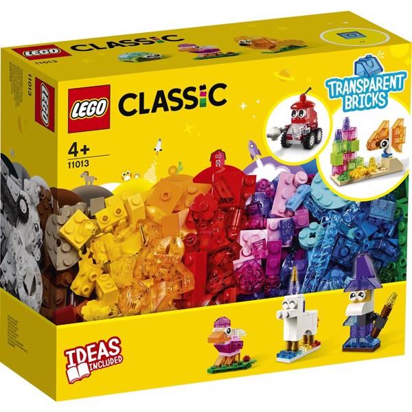 Image of Kreative gennemsigtige klodser - 11013 - LEGO Classic (11013)
