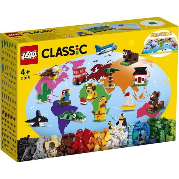 Image of Verden rundt - 11015 - LEGO Classic (11015)