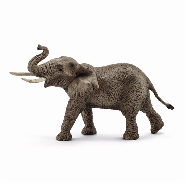 Image of Afrikansk han-elefant - Schleich (MAK-14762)