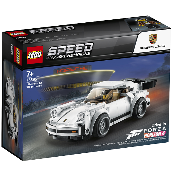 Image of   1974 Porsche 911 Turbo 3.0 - 75895 - LEGO Speed Champions