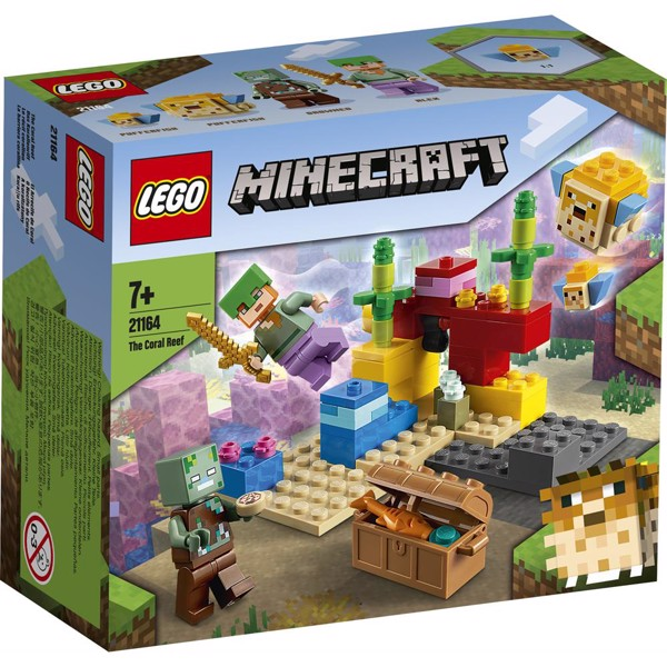 Image of Koralrevet - 21164 - LEGO Minecraft (21164)