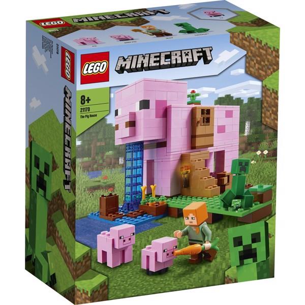 Image of Grisehuset - 21170 - LEGO Minecraft (21170)