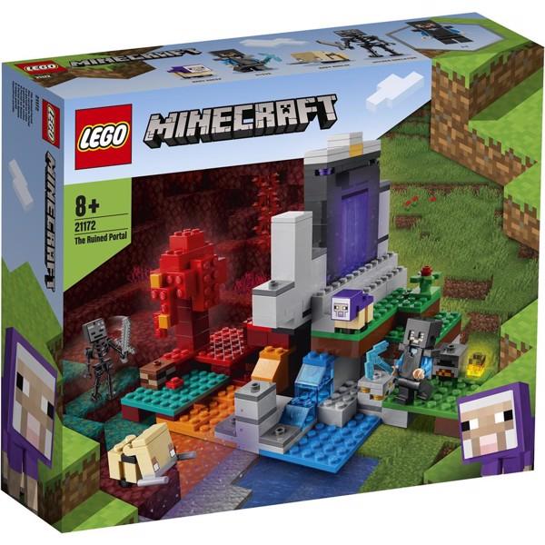 Image of Den ødelagte portal - 21172 - LEGO Minecraft (21172)