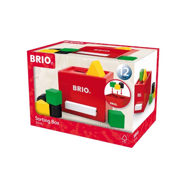 Putteboks, rød - 30148 - BRIO