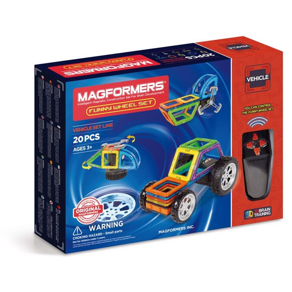 Image of Funny Wheel set - Magformers (MAK-3055)