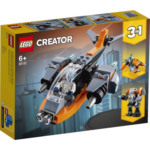 Image of Cyberdrone - 31111 - LEGO Creator (31111)