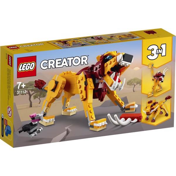 Image of Vild løve - 31112 - LEGO Creator (31112)