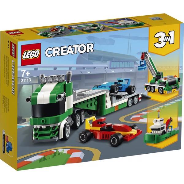 Image of Racerbil-transporter - 31113 - LEGO Creator (31113)