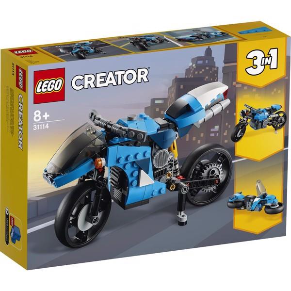 Image of Supermotorcykel - 31114 - LEGO Creator (31114)