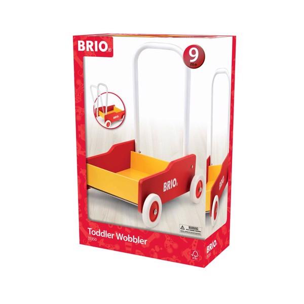 Lære-gå-vogn, rød - 31350 - BRIO Toddler