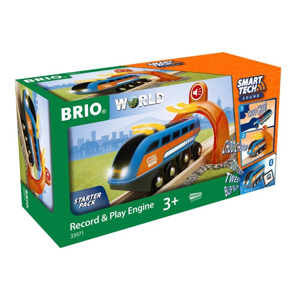 Image of Smart Tech Sound Lokomotiv med lydoptager - BRIO (33971)