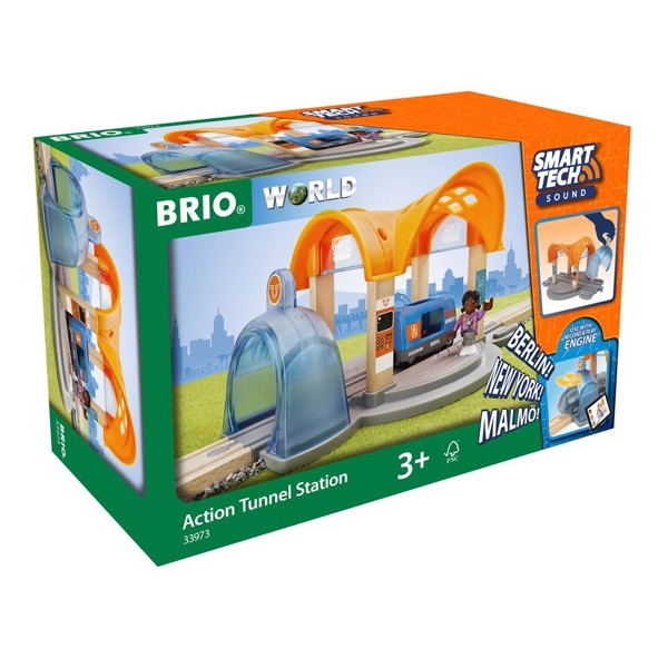 Image of Smart Tech Sound Action tunnel station - BRIO (33973)