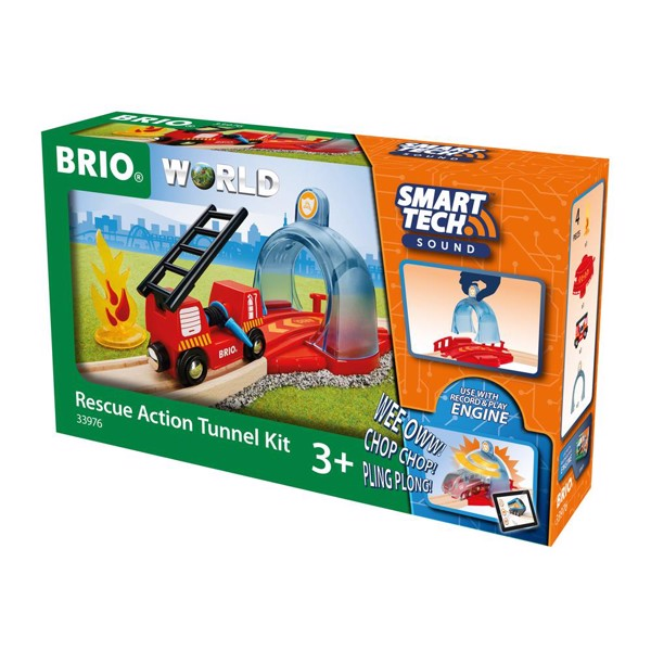 Image of Smart Tech Sound Rednings Action Tunnel-sæt - BRIO (B33976)