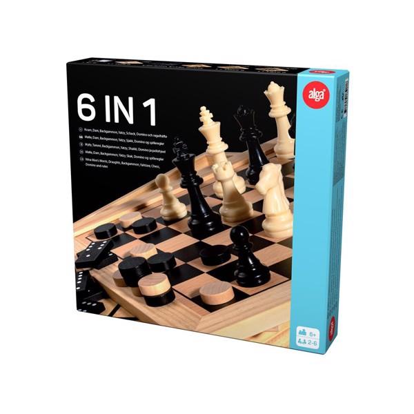 Image of 6-i-1 spil luksus - Fun & Games (38018921)