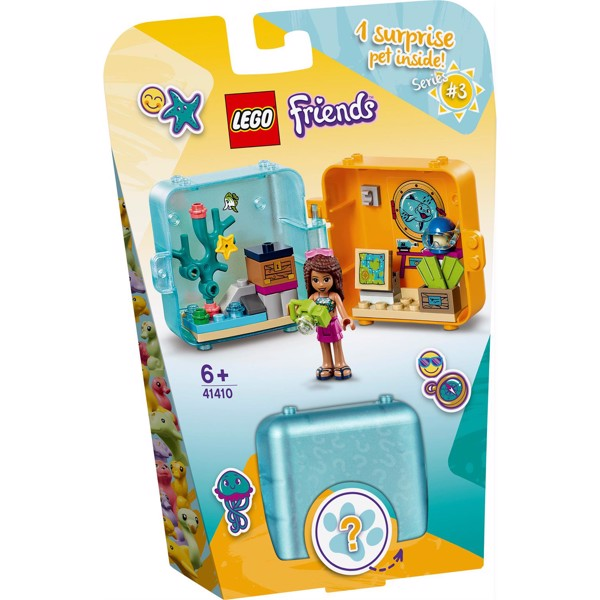 Image of Andreas sommerlegeboks - 41410 - LEGO Friends (41410)
