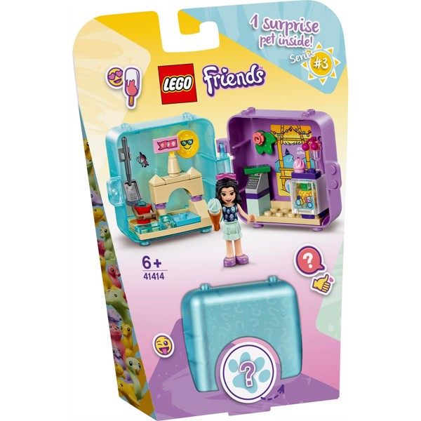 Image of Emmas sommerlegeboks - 41414 - LEGO Friends (41414)