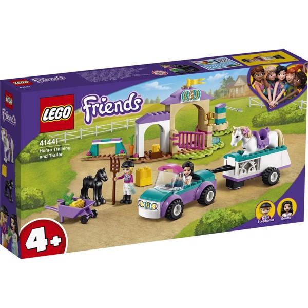 Image of Hestetræning og trailer - 41441 - LEGO Friends (41441)