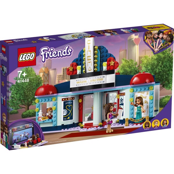 Image of Heartlake biograf - 41448 - LEGO Friends (41448)