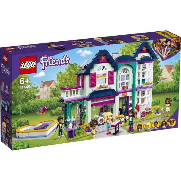 Image of Andreas families hus - 41449 - LEGO Friends (41449)