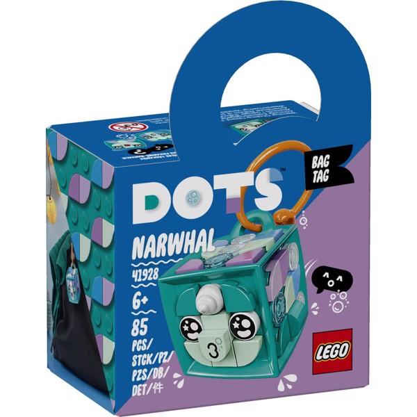 Image of Taskevedhæng - narhval - 41928 - LEGO DOTS (41928)