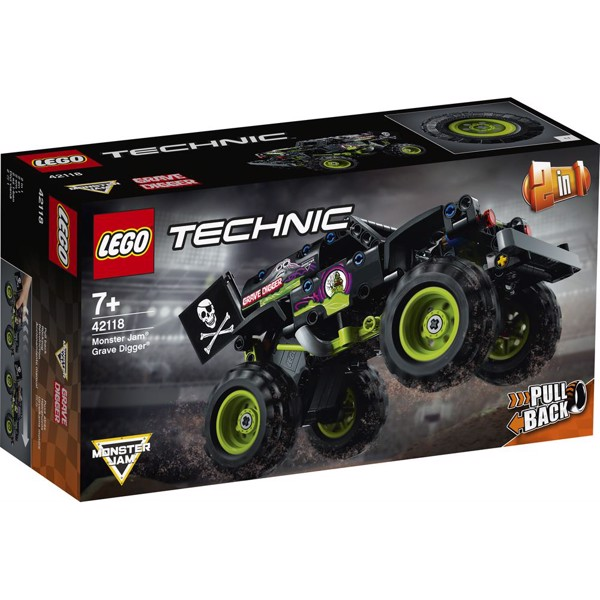 Image of Monster Jam Grave Digger - 42118 - LEGO Technic (42118)