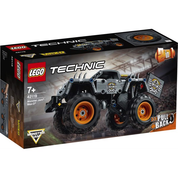 Image of Monster Jam Max-D - 42119 - LEGO Technic (42119)