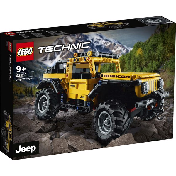 Image of Jeep Wrangler - 42122 - LEGO Technic (42122)