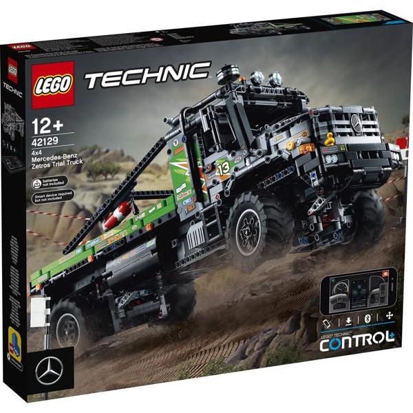 Image of Firhjulstrukket Mercedes-Benz Zetros offroadtruck - 42129 - LEGO Technic (42129)