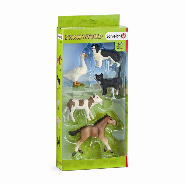 Image of 5 Farm World animals - Schleich (MAK-42386)