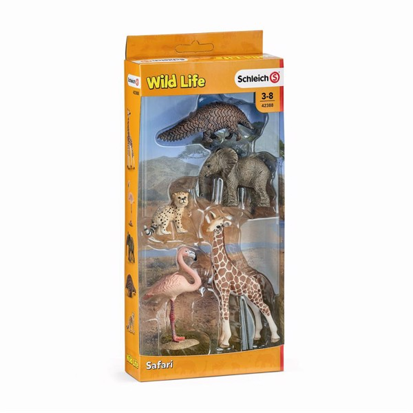 Image of 5 Wild Life animals - Schleich (MAK-42388)