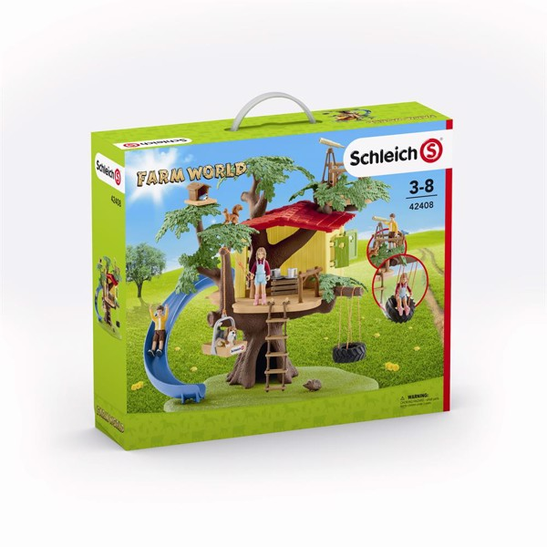 Image of Adventure tree house - Schleich (MAK-42408)
