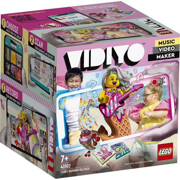 Image of Candy Mermaid BeatBox - 43102 - LEGO Vidiyo (43102)