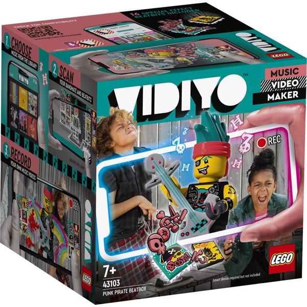 Image of Punk Pirate BeatBox - 43103 - LEGO Vidiyo (43103)