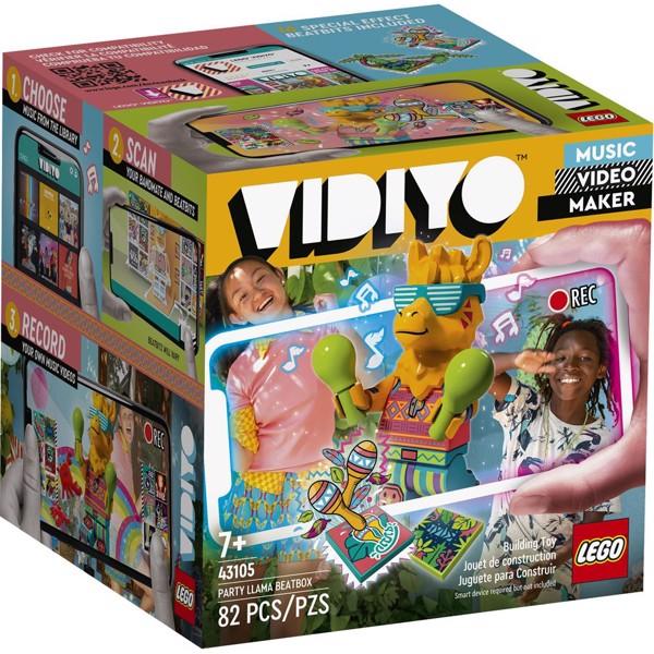 Image of Party Llama BeatBox - 43105 - LEGO Vidiyo (43105)