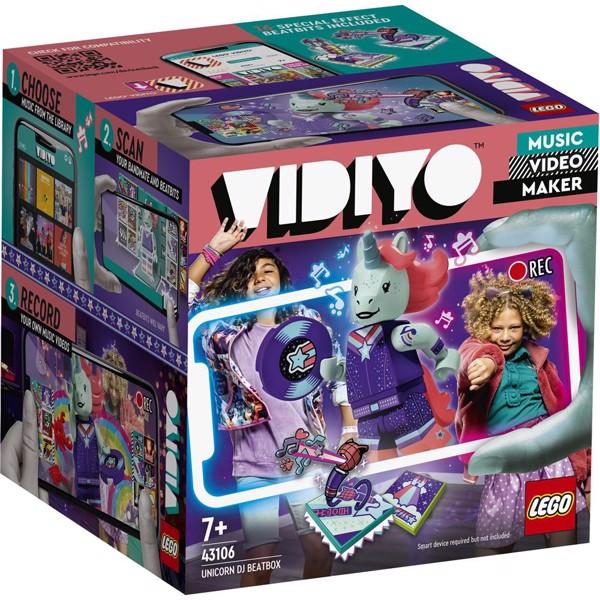 Image of Unicorn DJ BeatBox - 43106 - LEGO Vidiyo (43106)