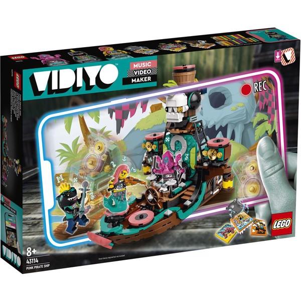 Image of Punk Pirate Ship - 43114 - LEGO VIDIYO (43114)