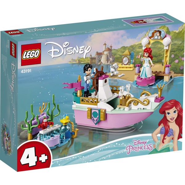 Image of Ariels festbåd - 43191 - LEGO Disney (43191)
