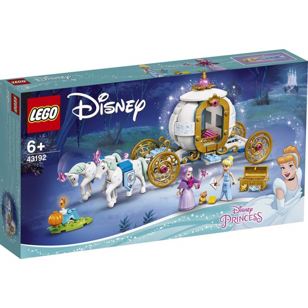 Image of Askepots royale karet - 43192 - LEGO Disney (43192)