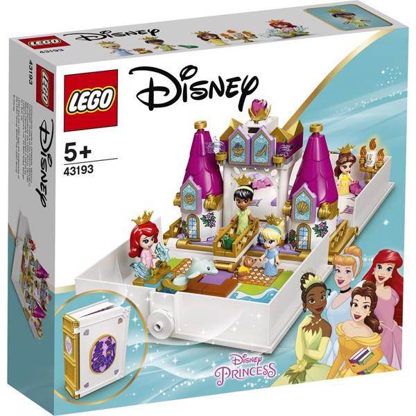Image of Ariel, Belle, Askepots og Tiana's eventyr - 43193 - LEGO Disney Princess (43193)