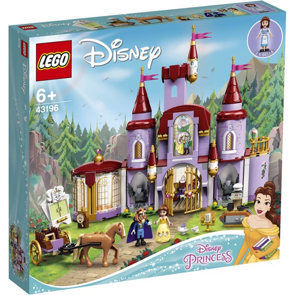 Image of Belle and the Beast's Castle - 43196 - LEGO Disney Princess (43196)