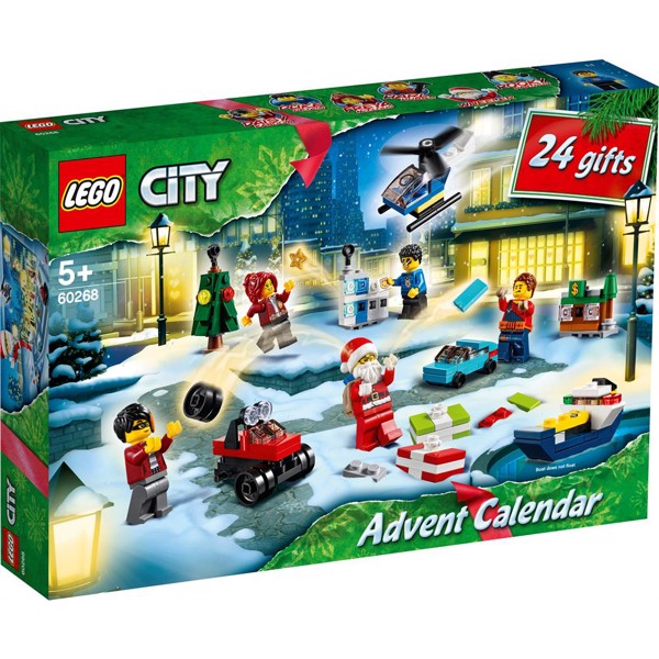 Image of 2020 julekalender - 60268 - LEGO City (60268)